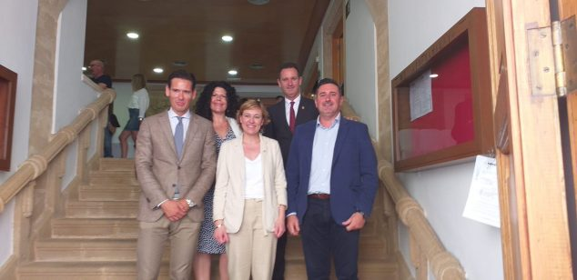 Imagen: Concejales del Partido Popular de Jávea
