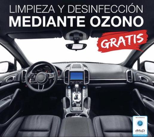 Desinfección de vehículos gratis – Autocenter