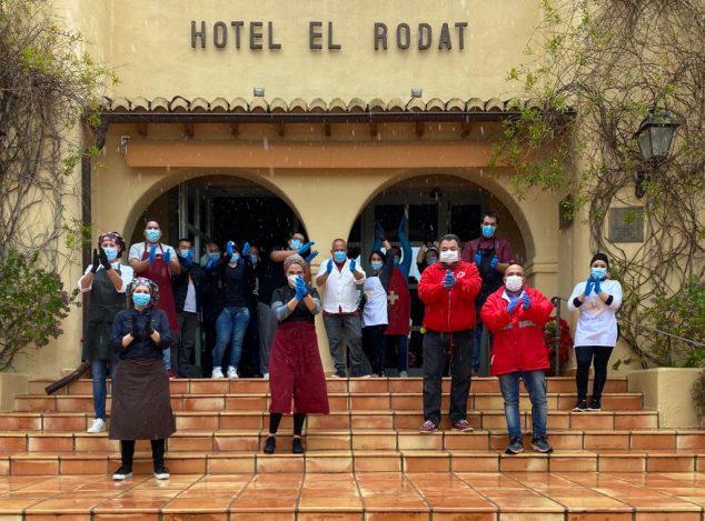 Imagen: Donación Hotel El Rodat - Cruz Roja