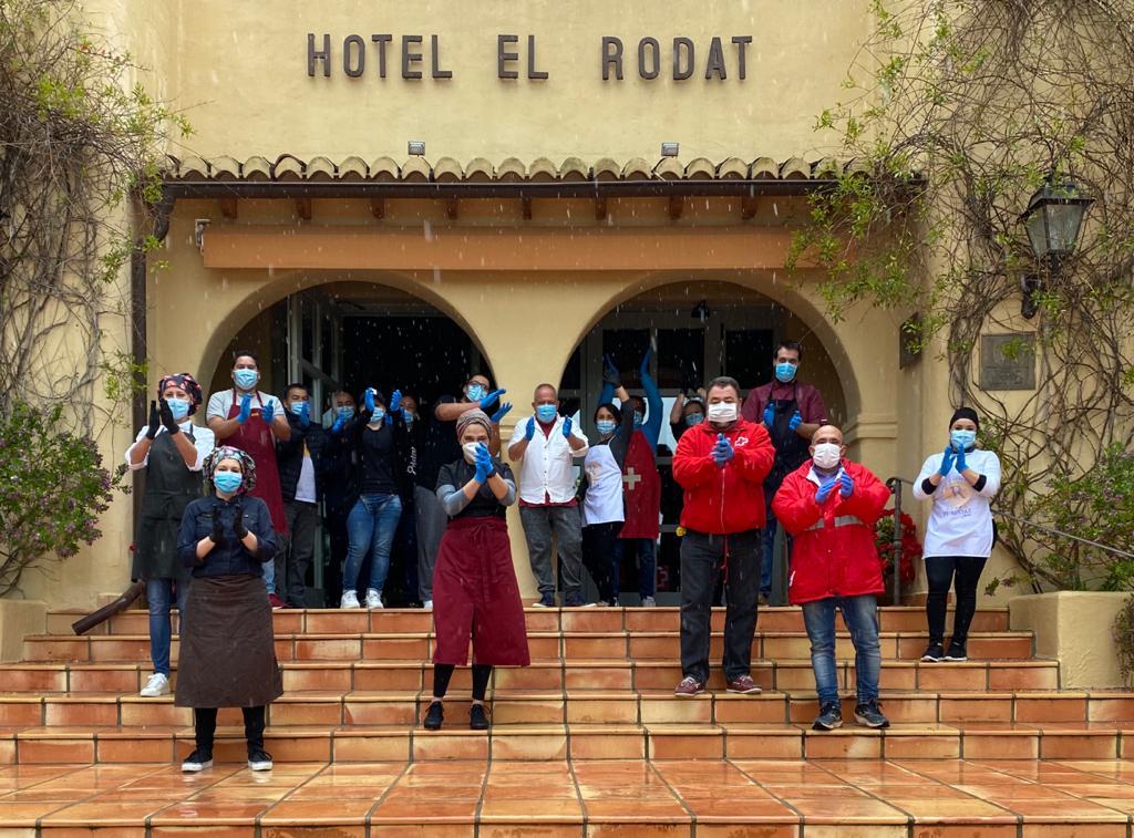 Donación Hotel El Rodat – Cruz Roja