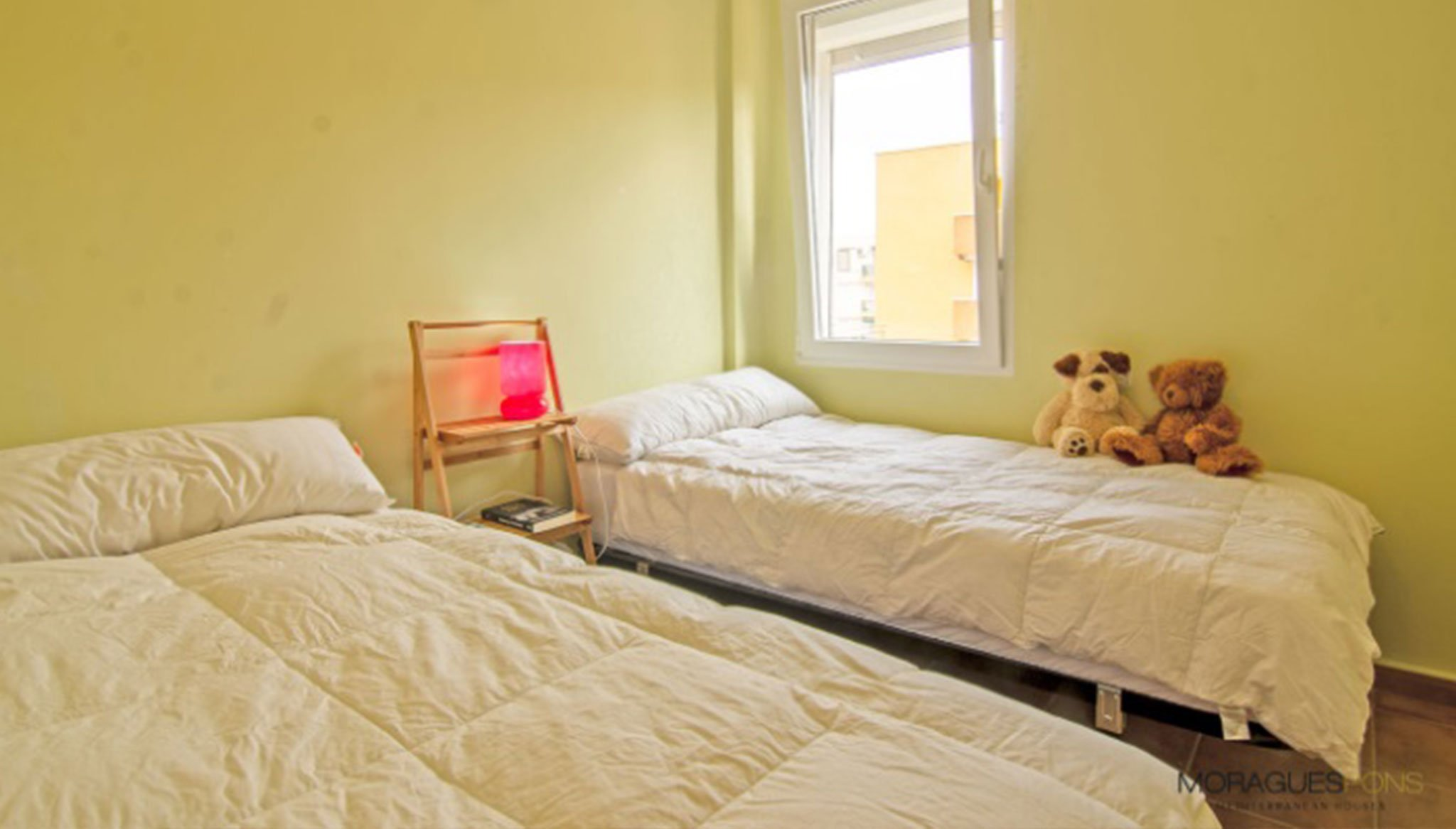 Dormitorio de un piso en venta en Jávea – MORAGUESPONS Mediterranean Houses