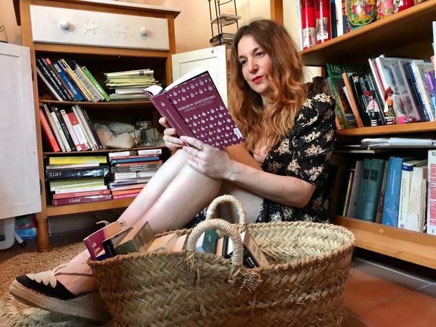 Imatge: Empar Ferrer, escriptora, professora i periodista de Benitatxell