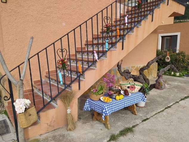 Imagen: Engalanamiento de terrazas y balcones