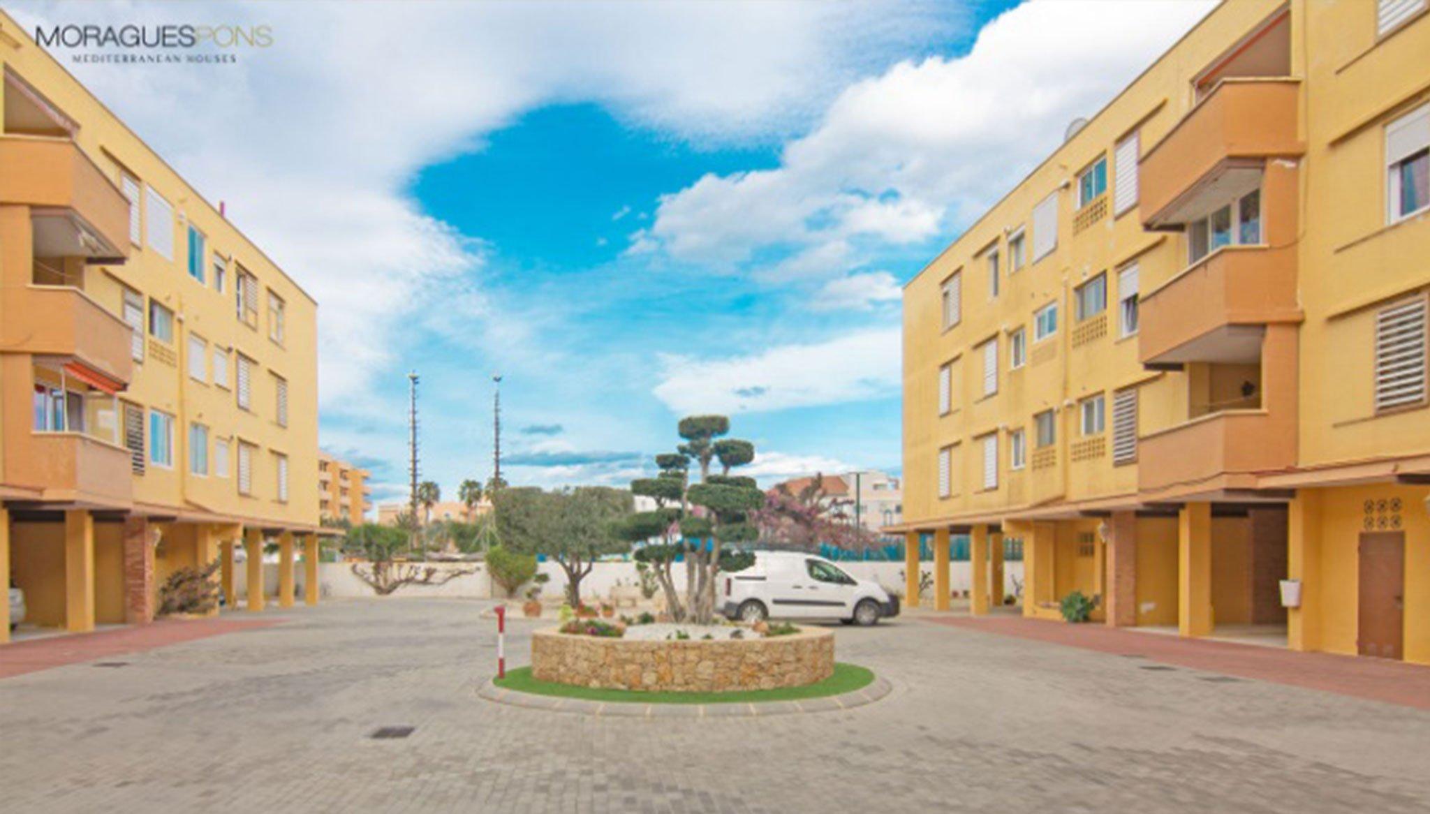 Entorno de un piso en venta en la zona del Arenal en Xàbia – MORAGUESPONS Mediterranean Houses
