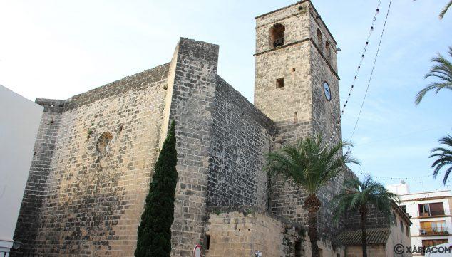 Imagen: Fachada de la Iglesia de San Bartolomé de Xàbia