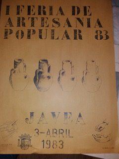 Póster de 1983 debido a Antonio Mahiques Lattur