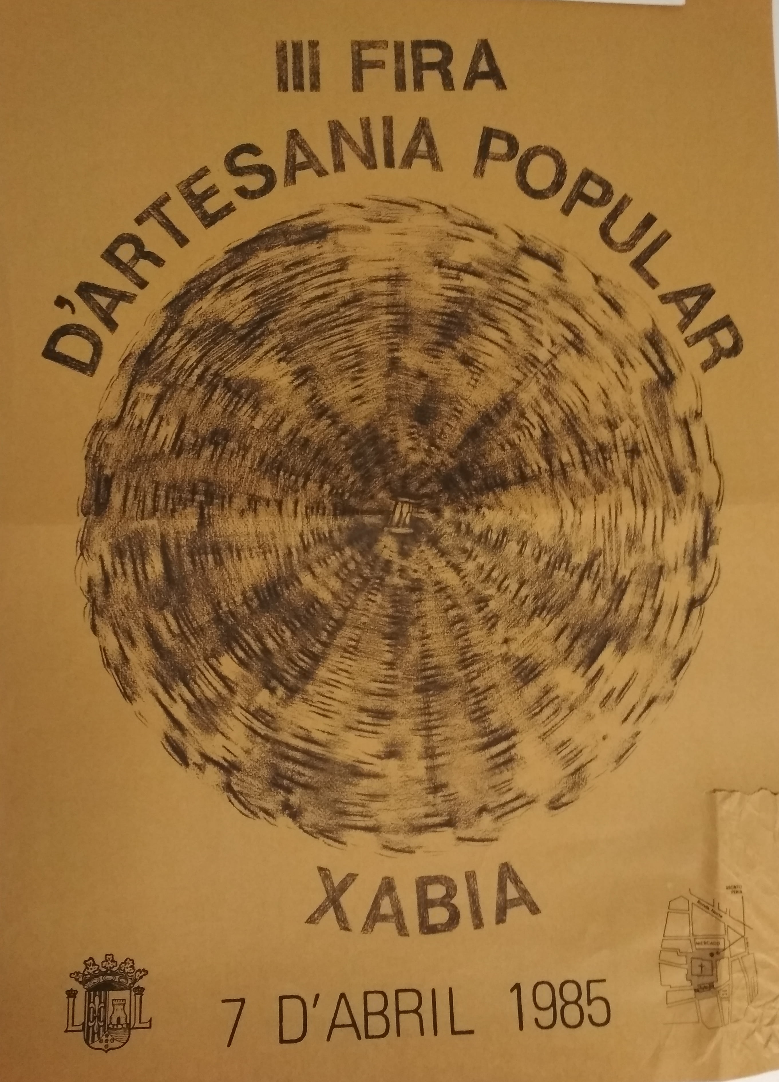 Poster de 1985, debido a Luci Arro