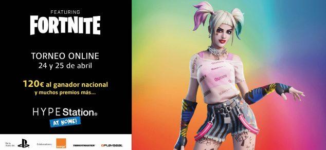 Imagen: Imagen publicitaria del torneo Fortnite con HYPE Station - Portal de la Marina