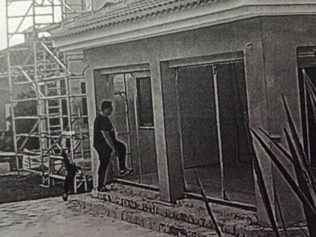 Imagen: Imagen del detenido de la cámara de seguridad de la vivienda
