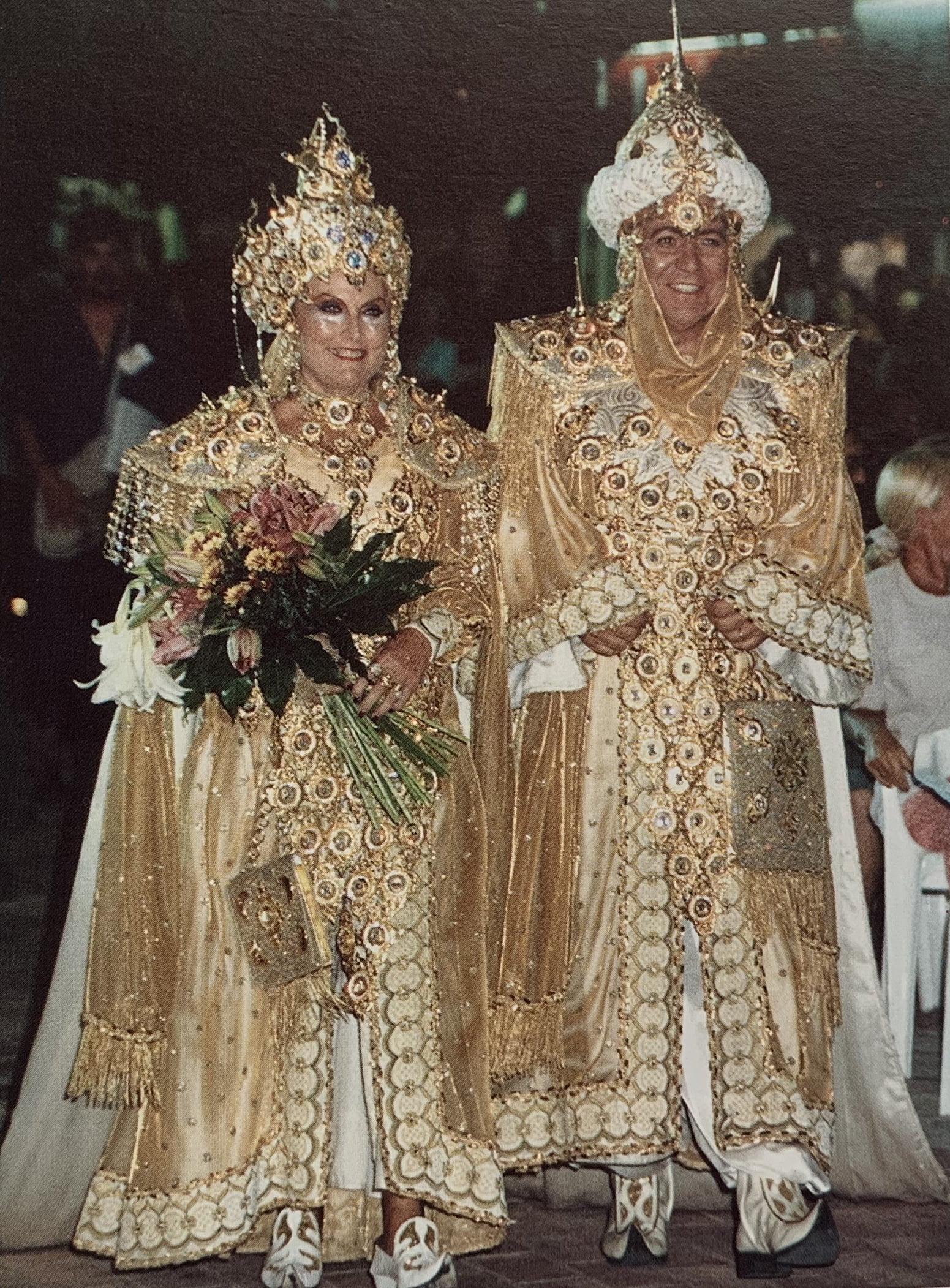Capitanes de 2001: Encarna Pérez y Juan Ferrus