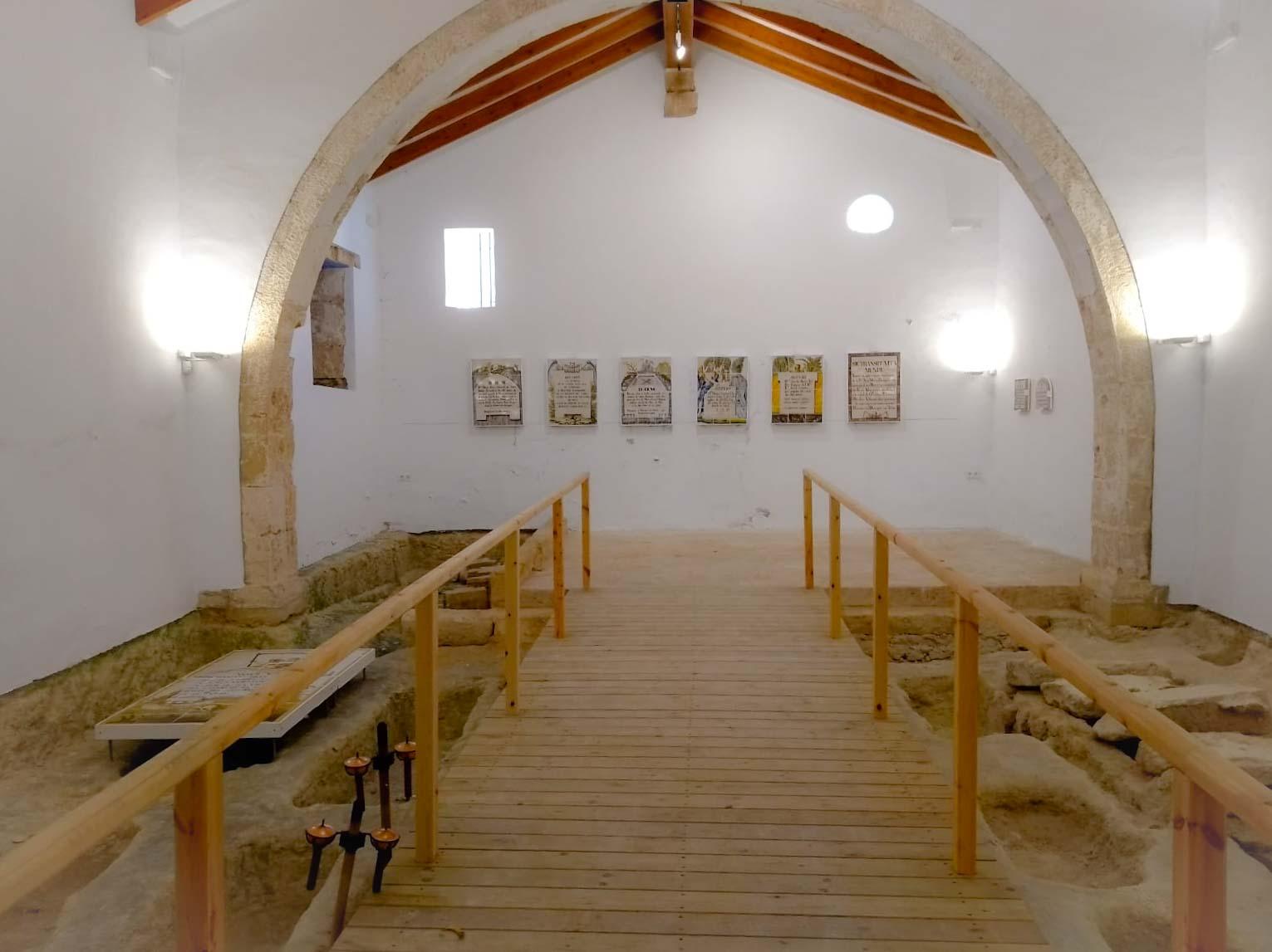 Interior de la Ermita de San Juan