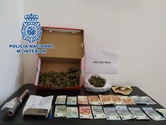 Imagen: Material intervenido por la Policía Nacional
