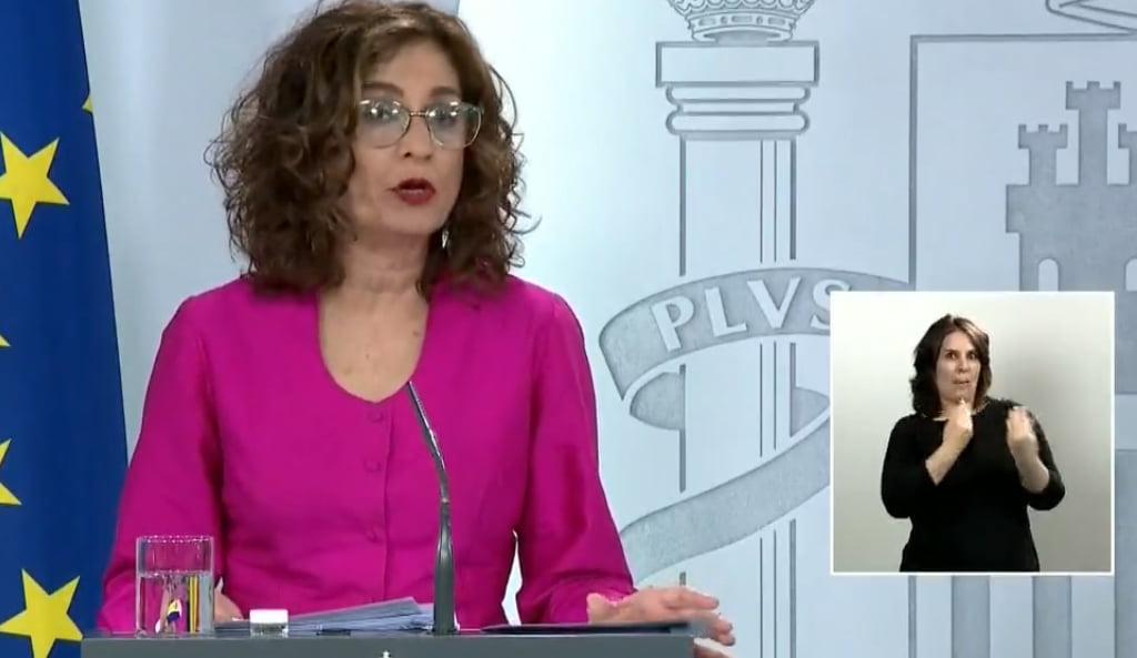 Ministra, María Jesús Montero