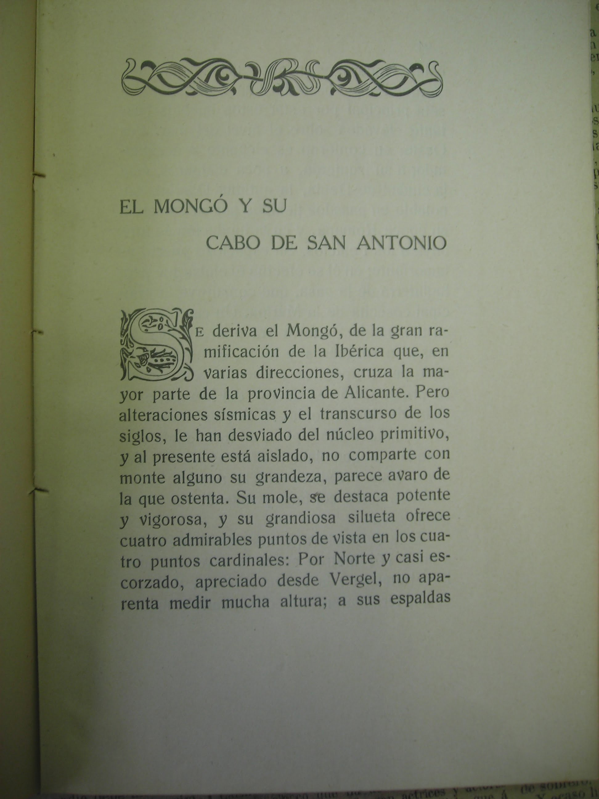Página 23 del Libro Costas y Paisajes de la Marina de Alicante