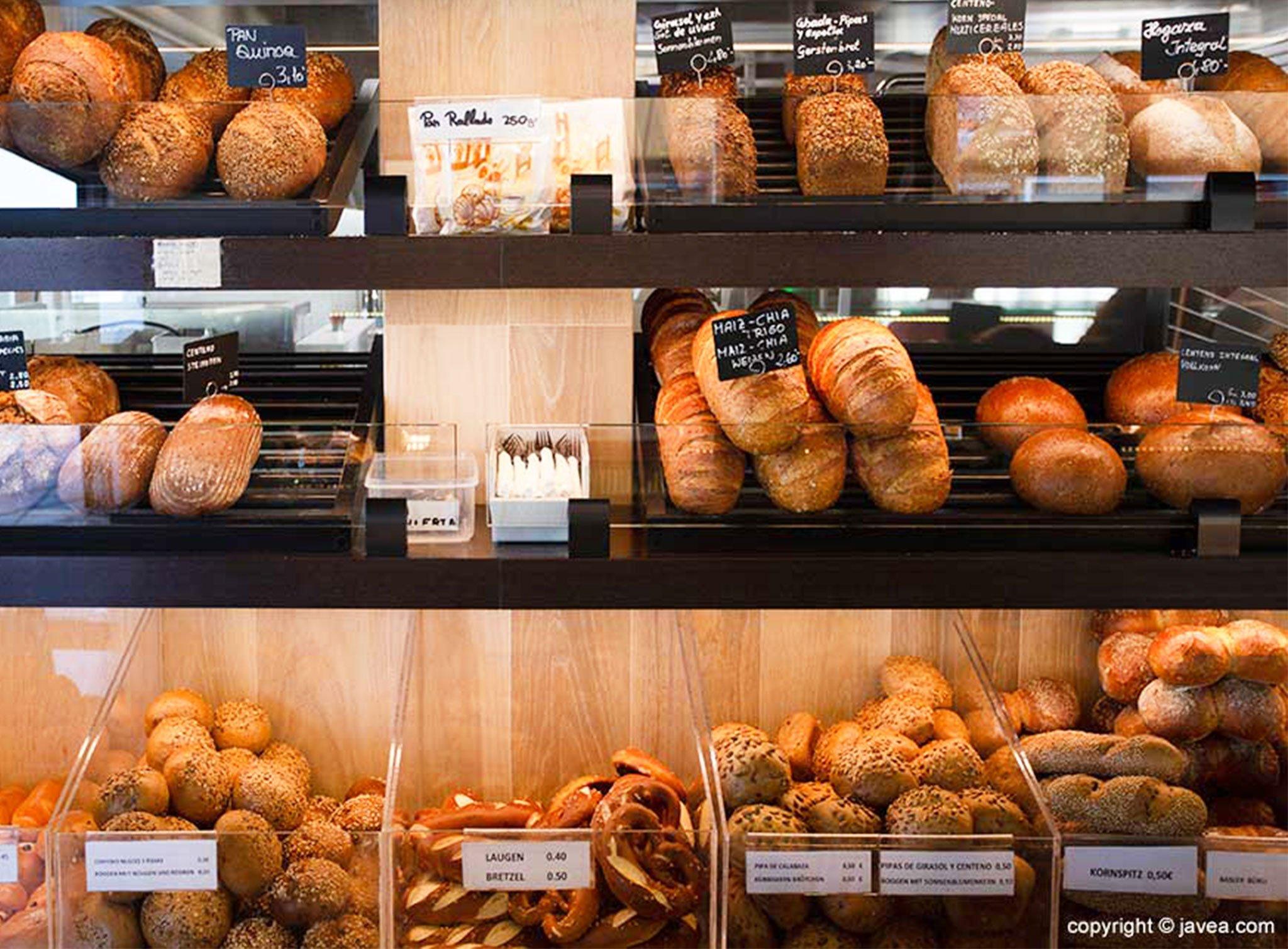 Pan y otras especialidades en Austriaco Café Wien