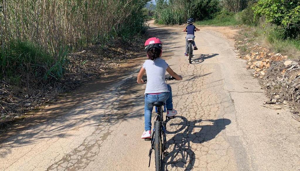 Paseos de niños por Xàbia
