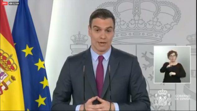 Imagen: Pedro Sánchez