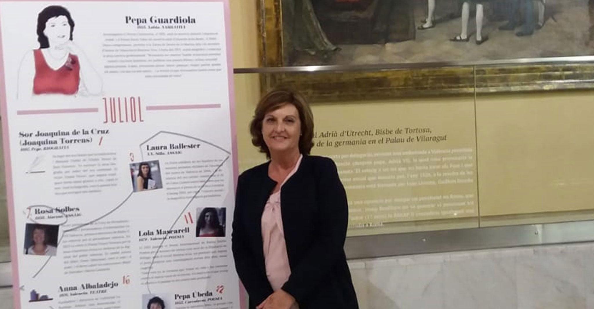 Pepa Guardiola, conocida escritora de Xàbia