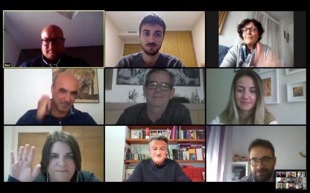 Imatge: Reunió de representants d'empresaris de Xàbia amb l'alcalde