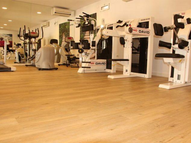 Imagen: Sala de rehabillitación del centro Medifit