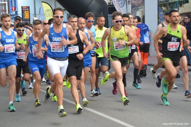 Afbeelding: Start race in Ondara