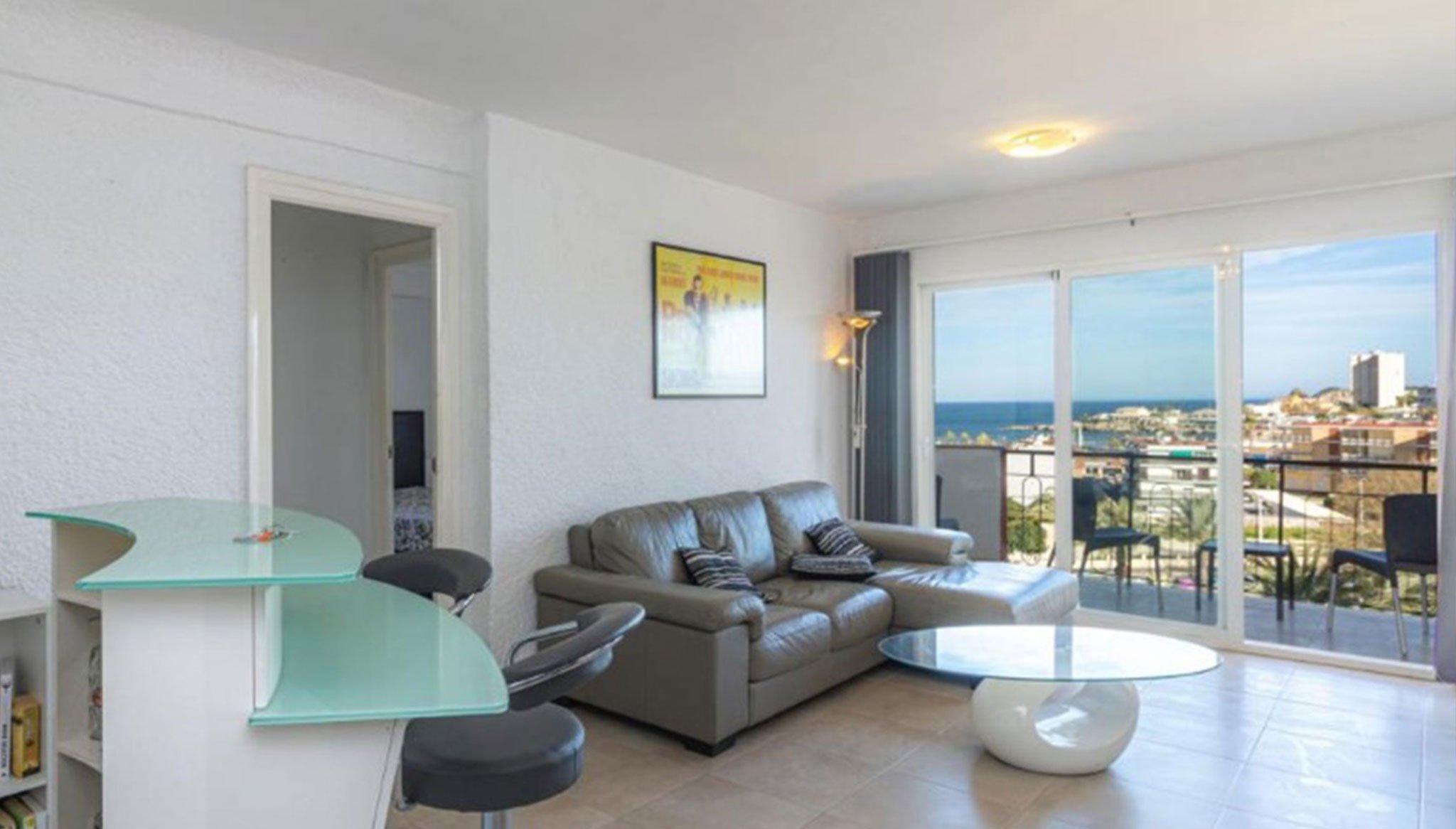 Salón en un apartamento en venta en Jávea – Vicens Ash Properties