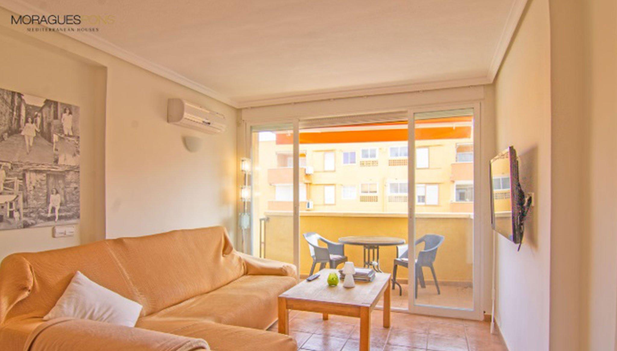Terraza de un apartamento en venta en Jávea – MORAGUESPONS Mediterranean Houses