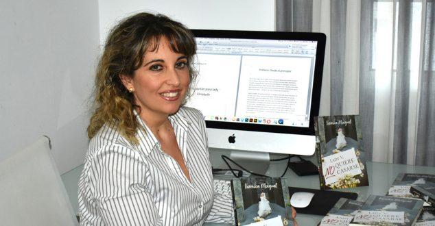 Imagen: La autora de Dénia Verónica Mengual