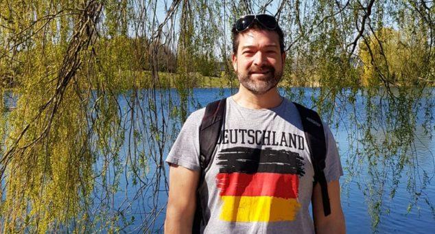 Imagen: Vicente Polvoreda en Colonia (Alemania)