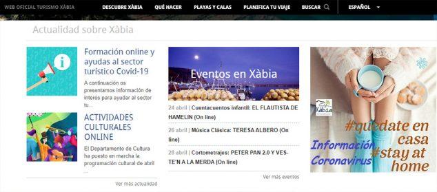 Imagen: Web Turismo Xàbia