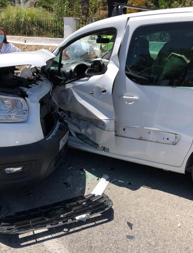 Image: Accident in Xàbia
