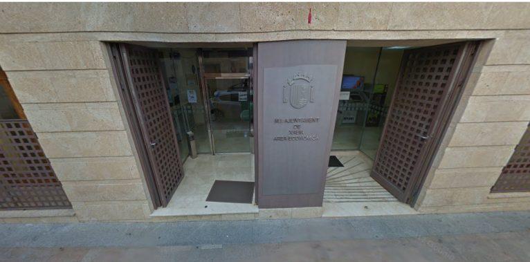 rea económica del Ayuntamiento de Xàbia