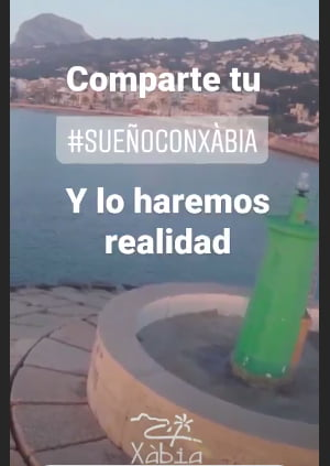 Imagen: Campaña turismo Xàbia