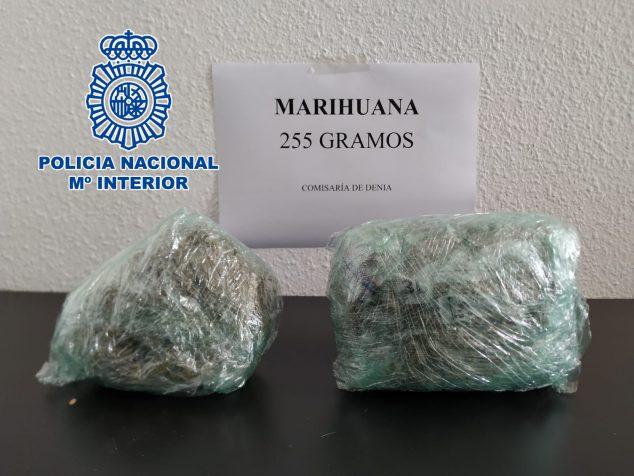 Imagen: Cantidad de marihuana requisada