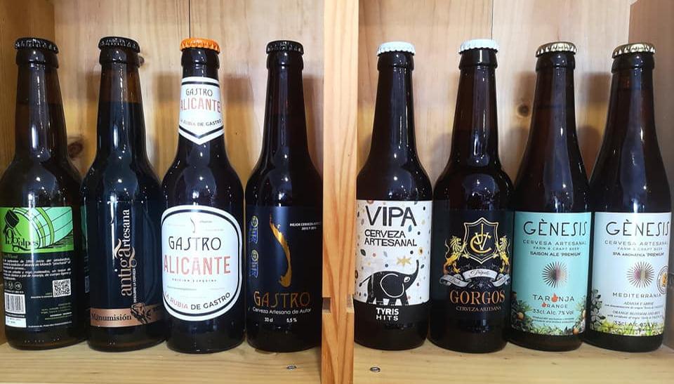 Cervezas artesanales Jávea – De La Tierra Jávea