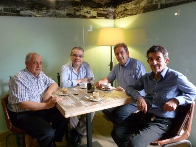 Imagen: Juan Codina, Rafael Andarias, José F. Erades y José Cholbi Vives
