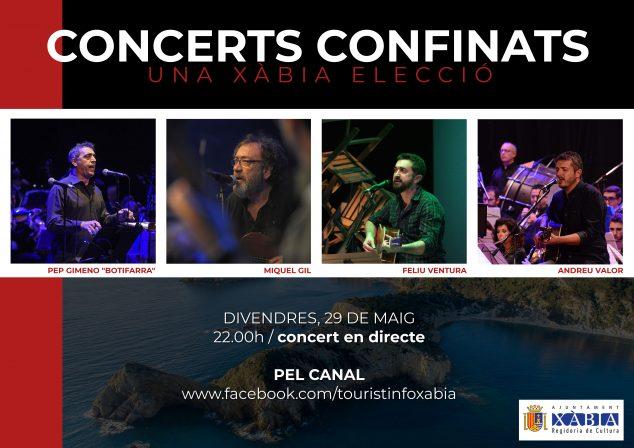 Imatge: Concert de Xàbia Folk línia