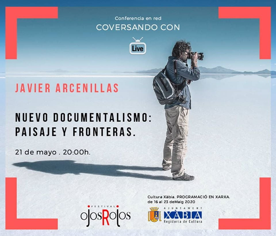 Conferencia online con Javier Arcenillas