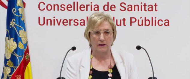 Imagen: Consellera de Sanidad, Ana Barceló