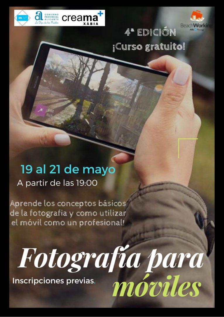Curso fotografía para móviles