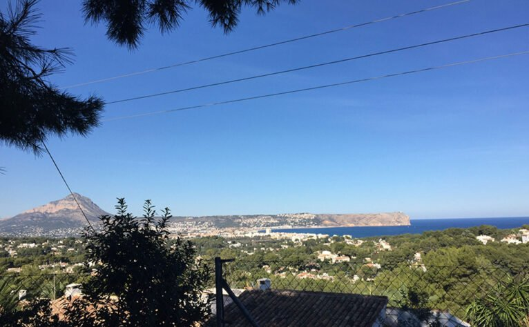 El Montgó se ve desde cualquier punto de Xàbia