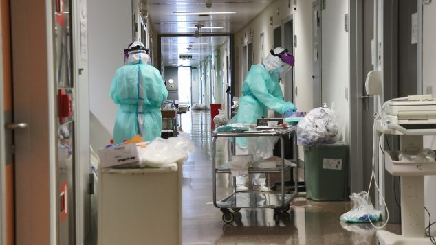 Bild: Klinische Studie im Hospital de la Fe in Valencia