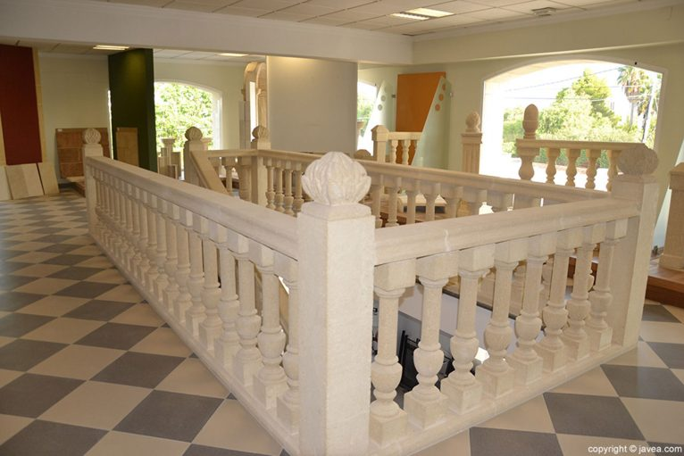 Balaustrada de piedra - Artosca