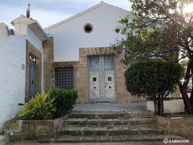 Imagen: Fachada principal de la Ermita de San Juan