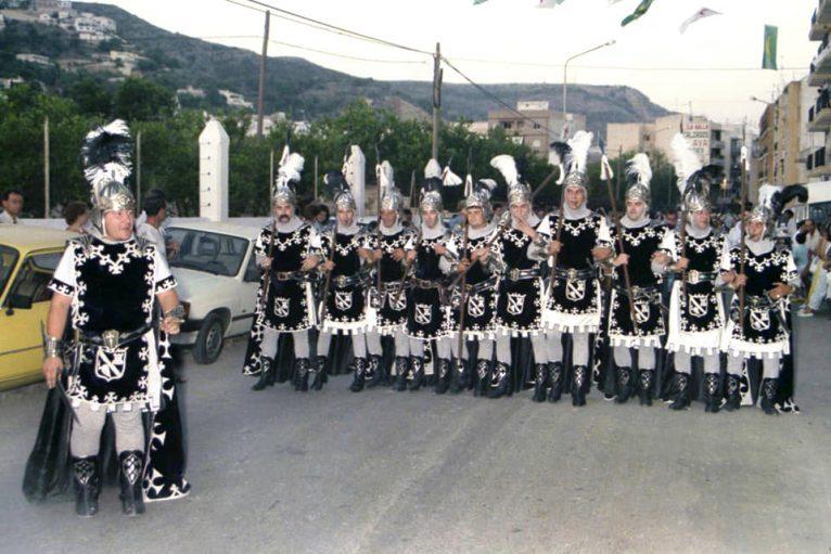 Filà Trabuquers en el desfile de 1986
