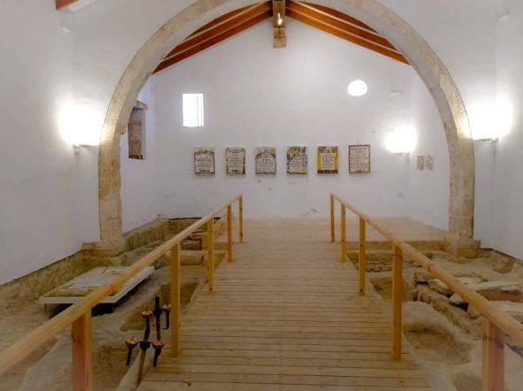 Imagen: Interior de la Capilla de San Juan