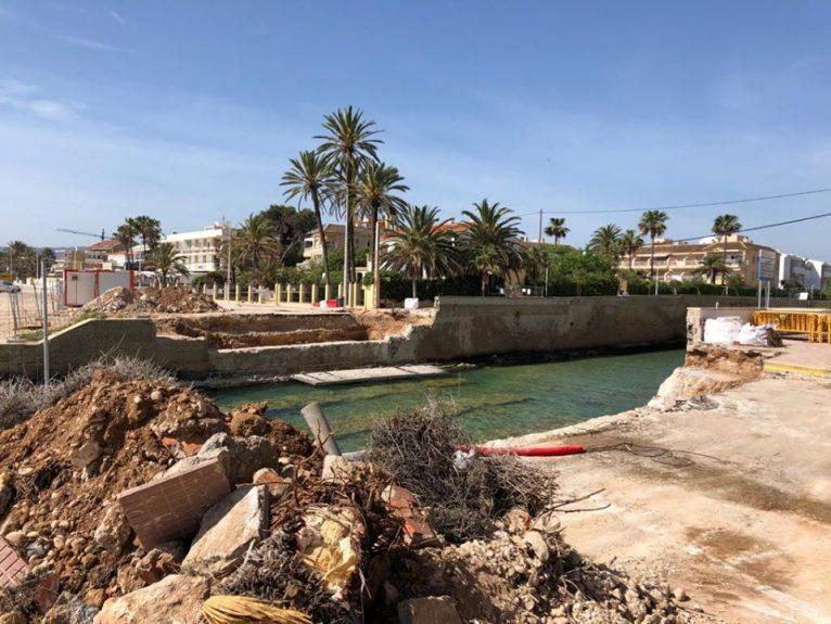 Obras del Puente de Triana