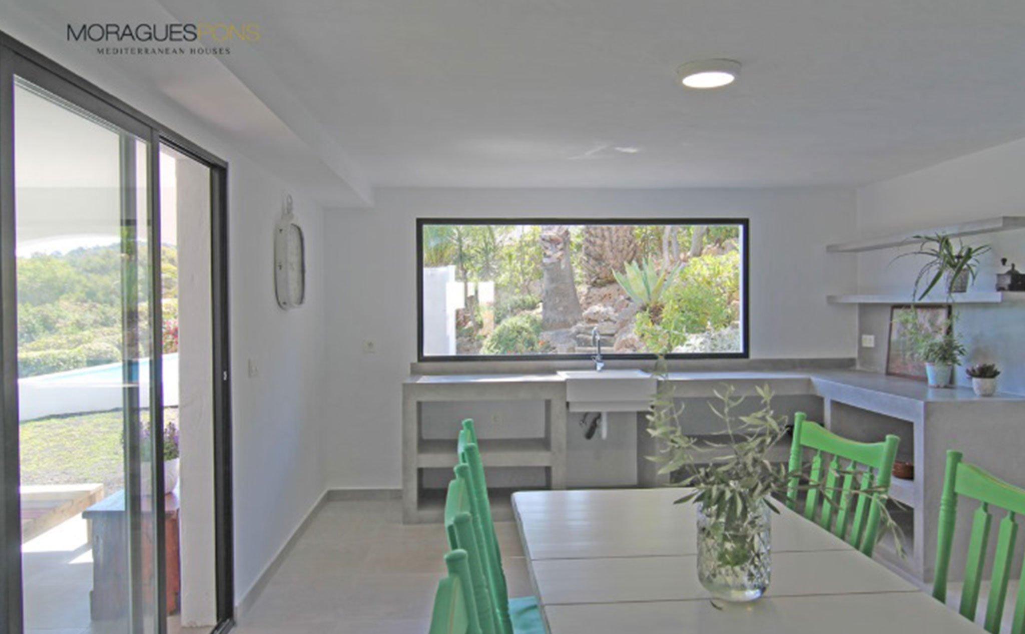 Planta inferior de una casa en venta o alquiler en Jávea – MORAGUESPONS Mediterranean Houses