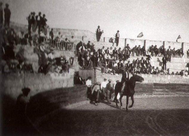Imagen: Plaza de toros de Xàbia