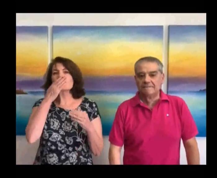 Rafael Andarias y su mujer agradecen la labor sanitaria